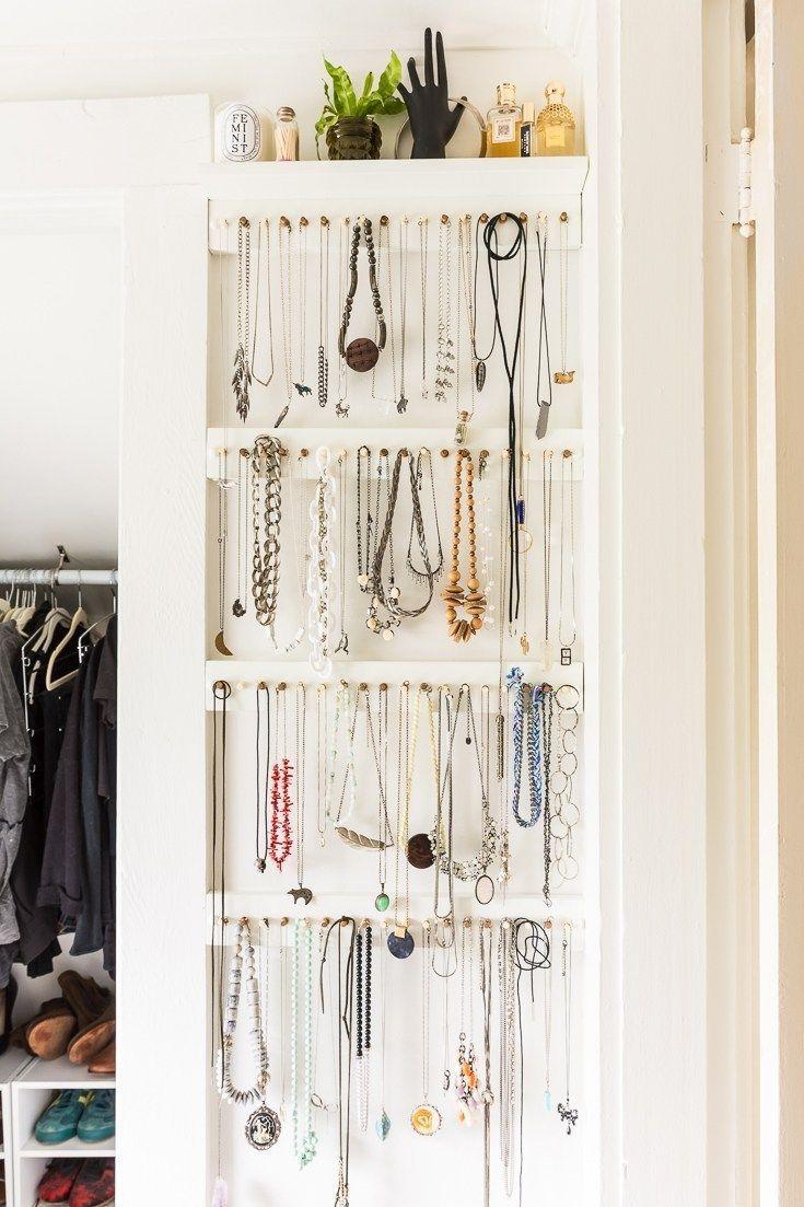 Photo of Easy DY Jewelry Storage Rack