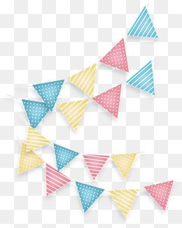 Triangle Color Banners Vector Png Triangular Flag Color Banners Png And Vector With Transparent Background For Free Download Triangle Vector Banner Design Color Vector