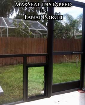 Security Boss MaxSeal Installed In A Lanai