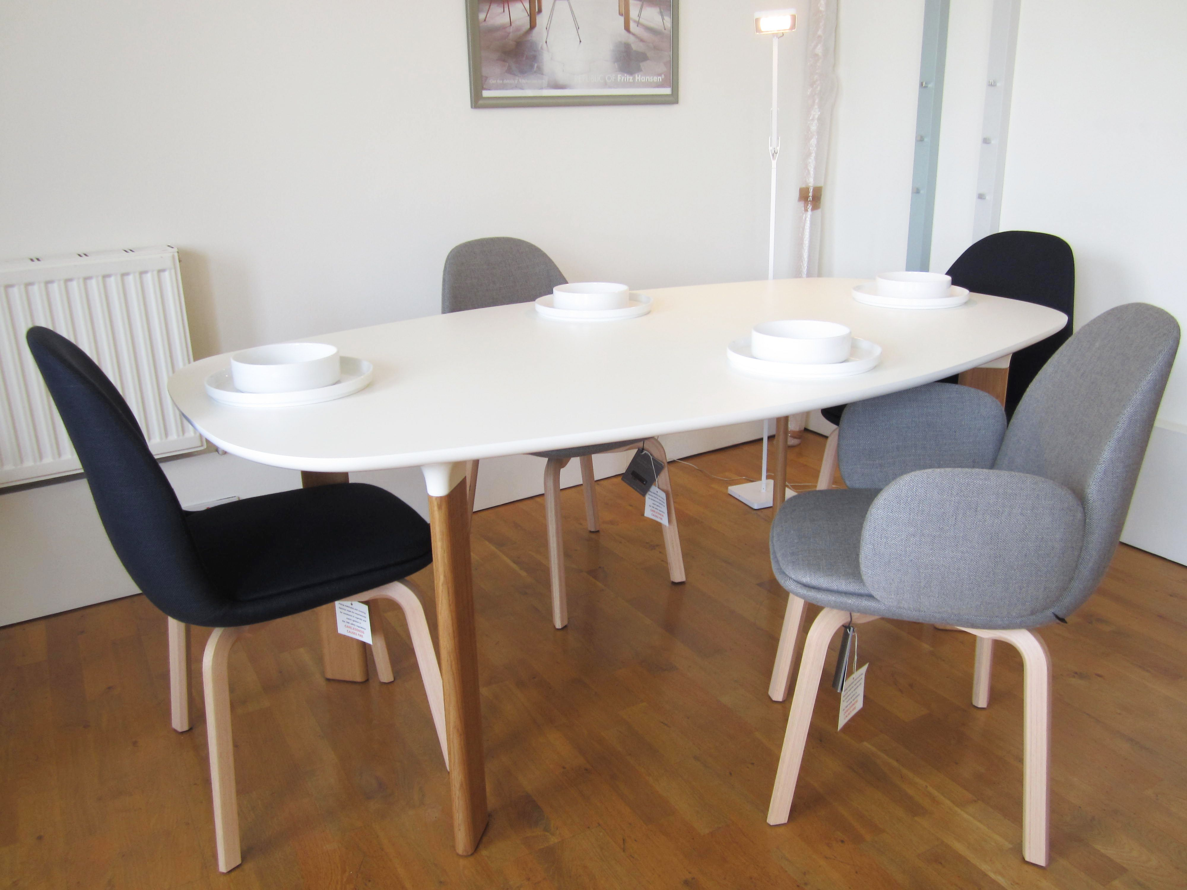 new sammen dining chairs by jaime hayon for fritz hansen available rh pinterest com