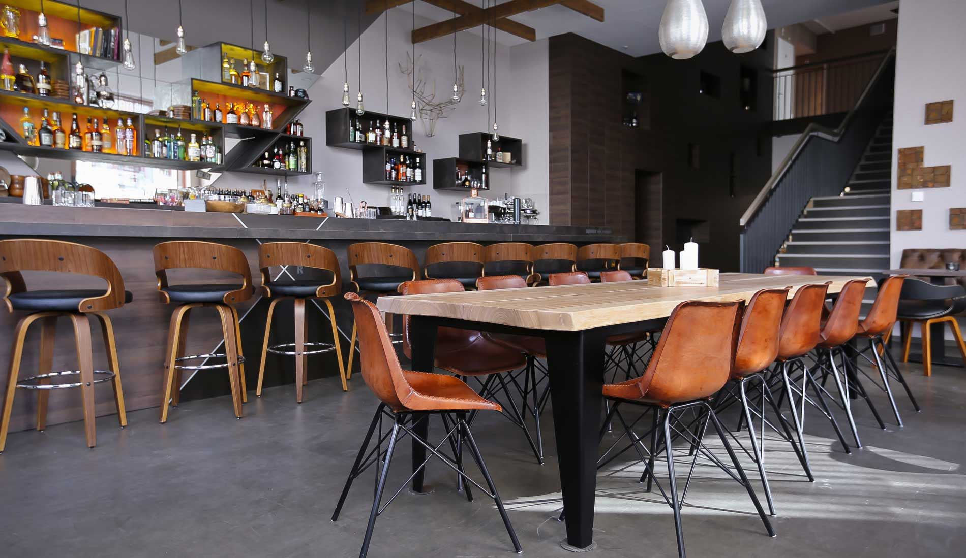 Bar Restaurant Imperii Moderne Kuche Kalbsrouladen Deutsche Kuche