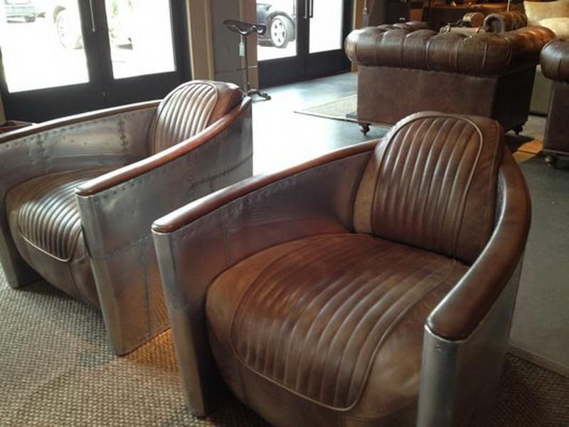 Aviation Furniture Restoration Hardware Higland