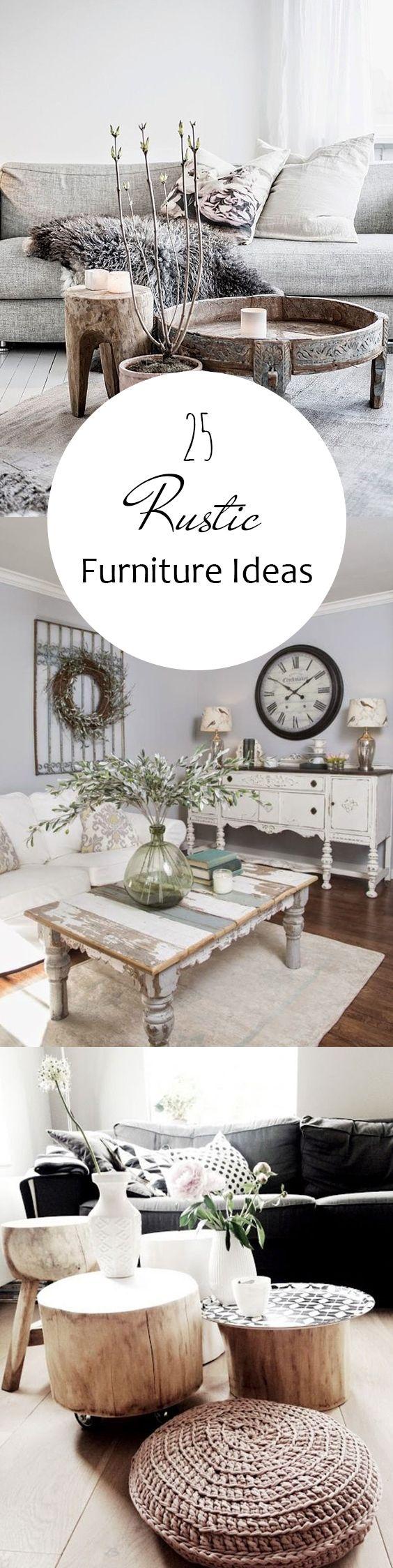 Rustic Furniture Rustic Home Decor DIY Home