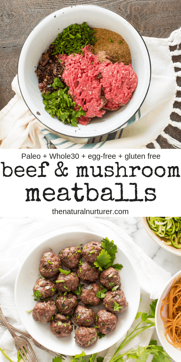 Beef Mushroom Meatballs Recipe Beef Recipes Paleo Beef Recipes Keto Beef Recipes