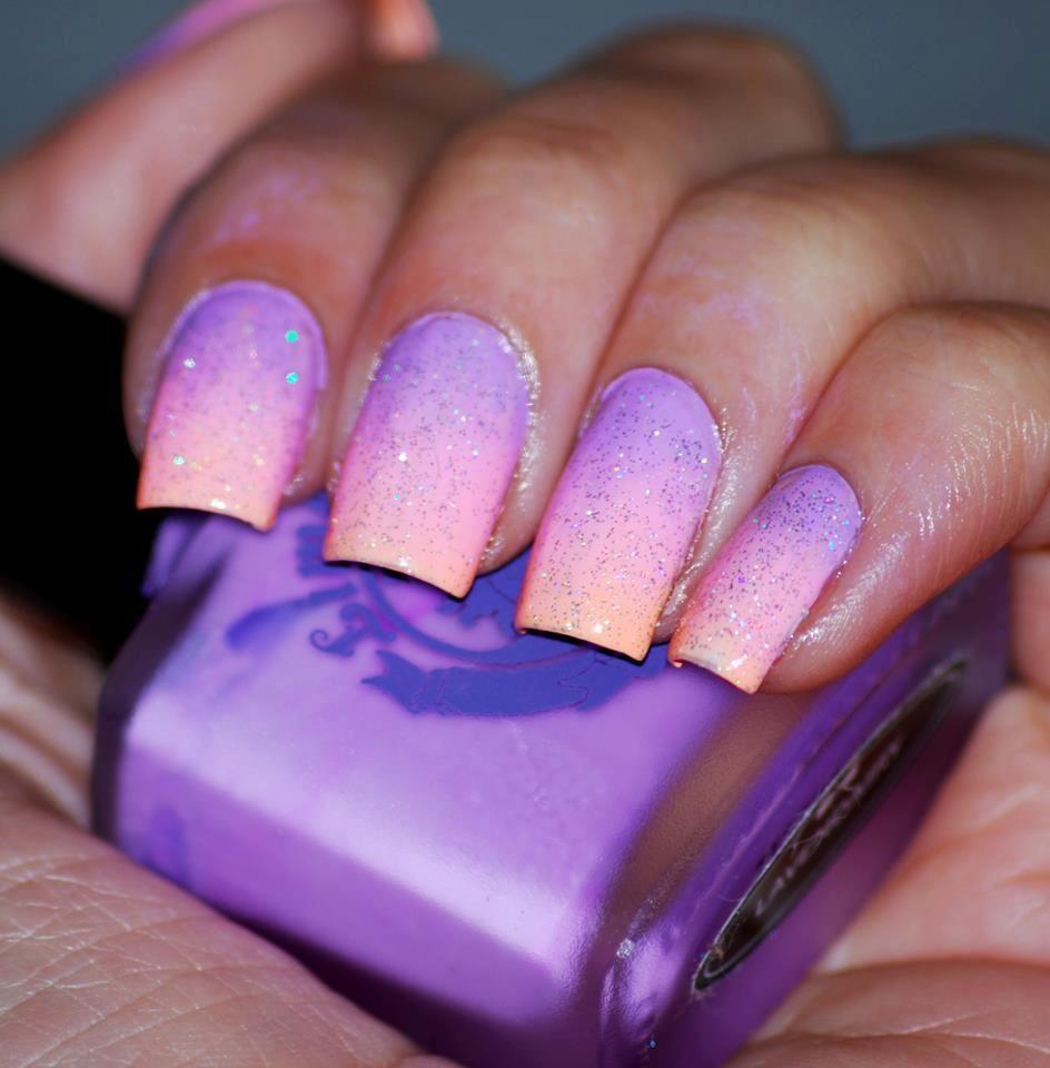 Light Blue Acrylic Nails Glitter