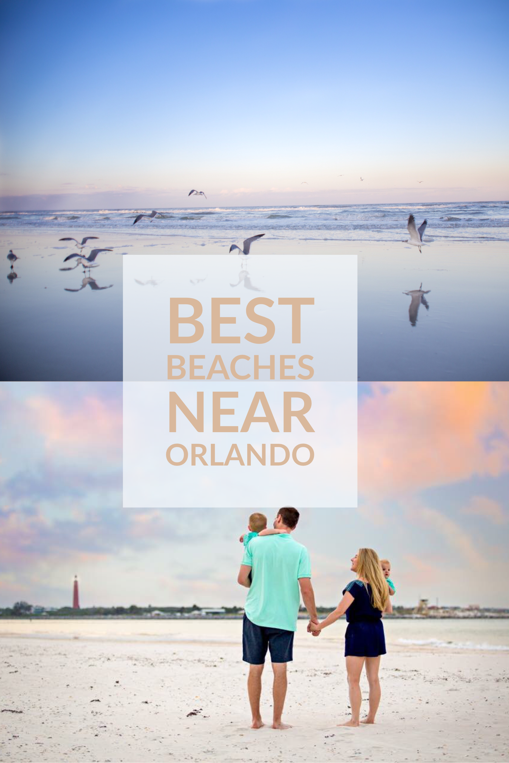 Take A Beach Day And Enjoy Florida S White Sandy Beaches Best Near Orlando Fl