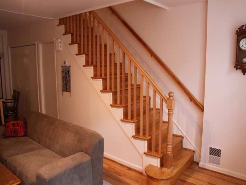 Elegant Stairs   A Flat Thing Instead Of A Ball Is Okay For The Finish Piece At  Bottom Stair Handrail And Newel. A New Newel Post, Handrail And Balusters  Were ...