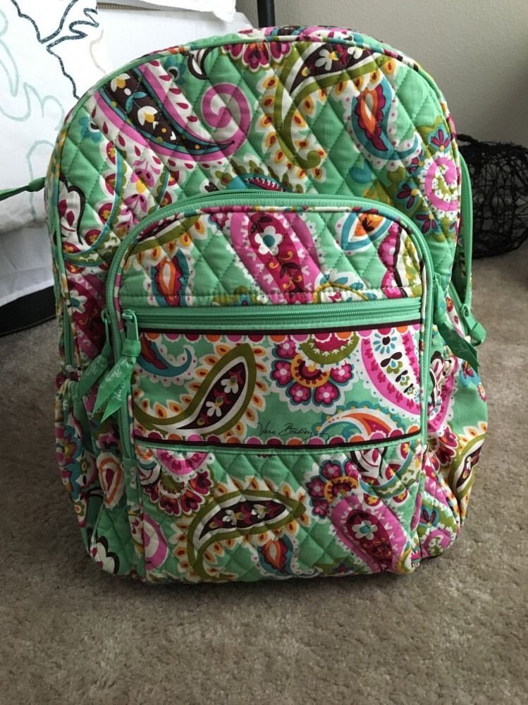 b9c153d640 Vera Bradley Large Campus Backpack in Tutti Frutti-Excellent Condition   VeraBradley  Backpack