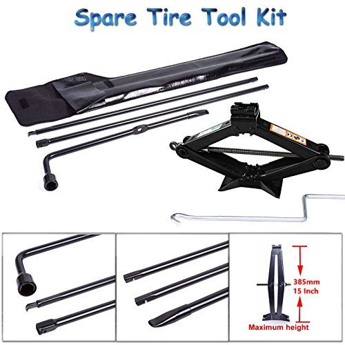 2003-2007 Ford F250 350 Super Duty Spare Tire Jack Lug Nut Wrench Handle Kit OEM