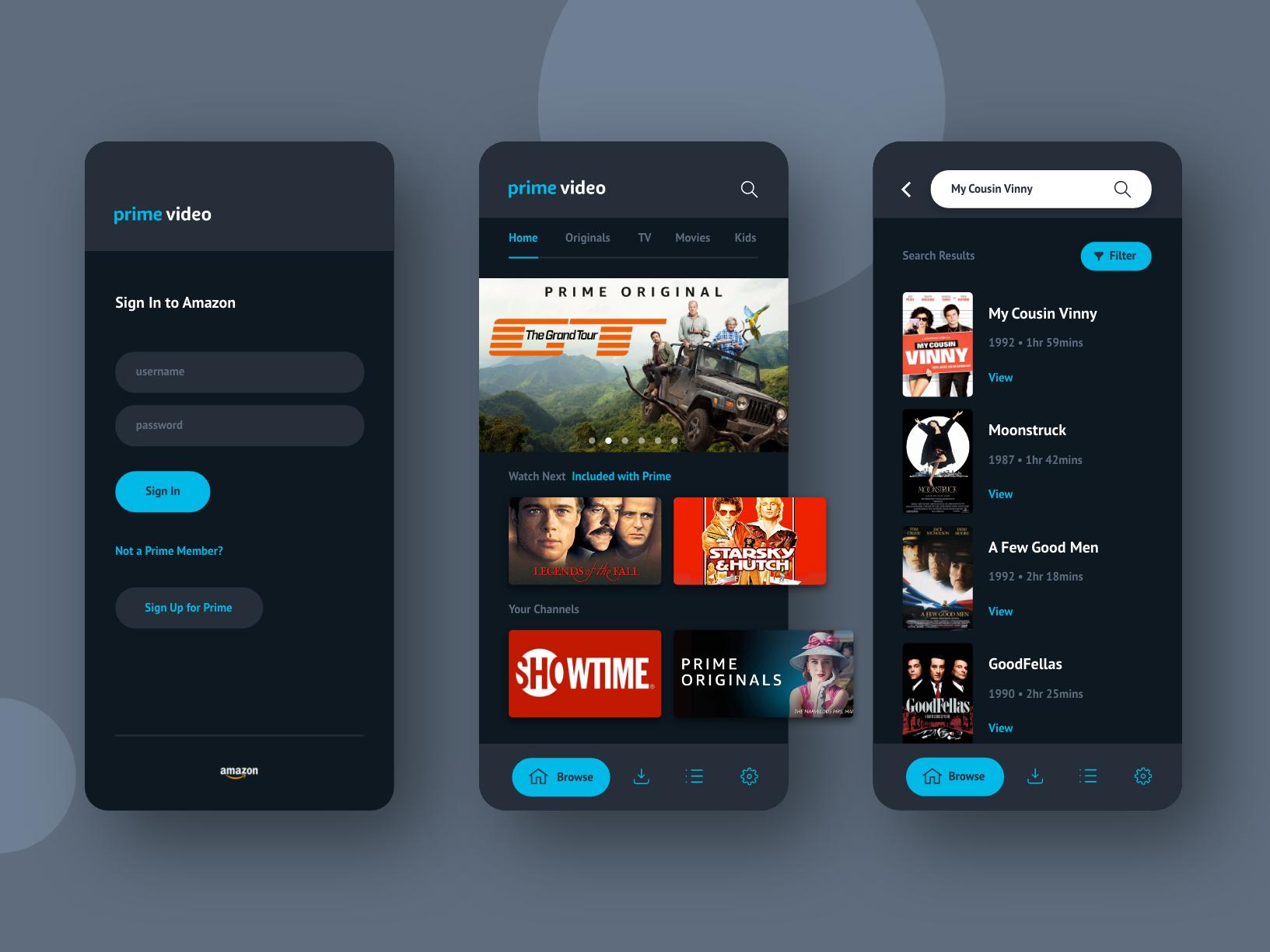 Amazon Prime Video Amazon prime video app, Prime video