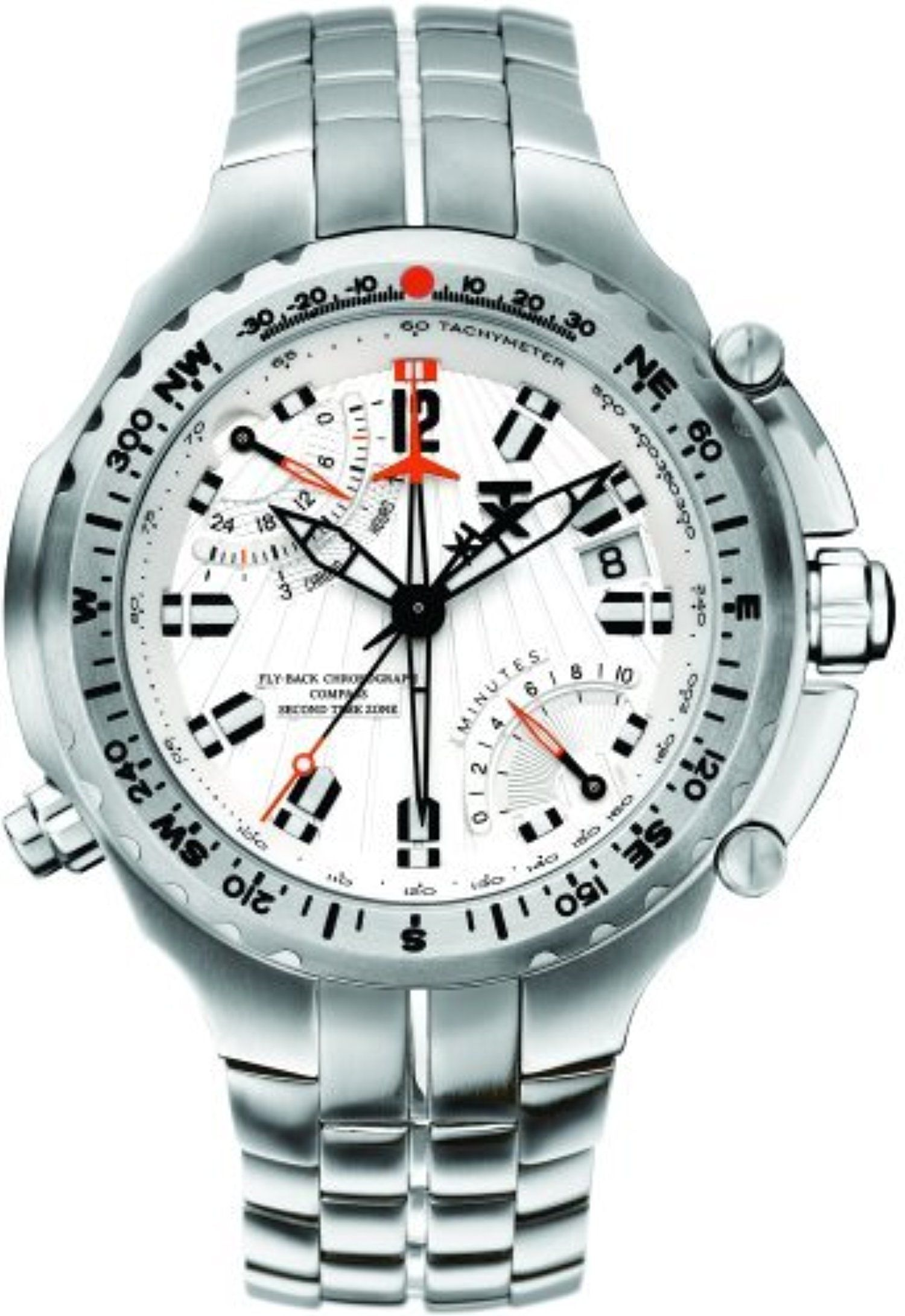 TX Men's T3B861 700 Series Sport Flyback Chronograph Dual