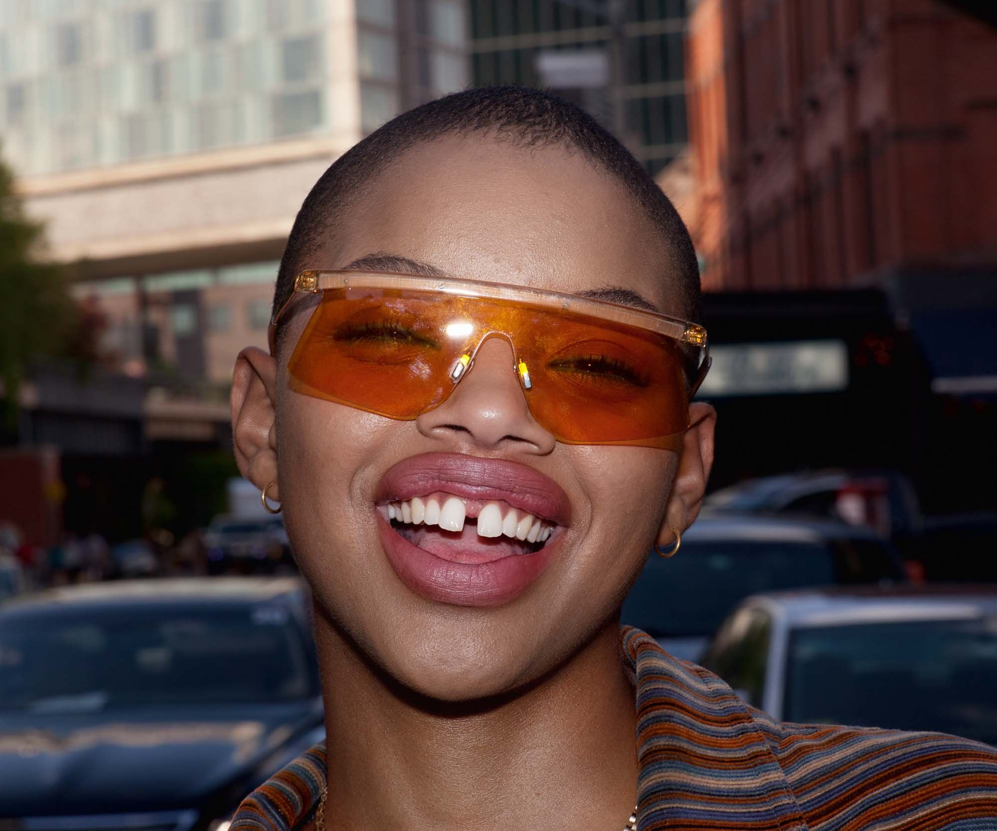 Slick Woods Makes Her Own Red Carpet Rules