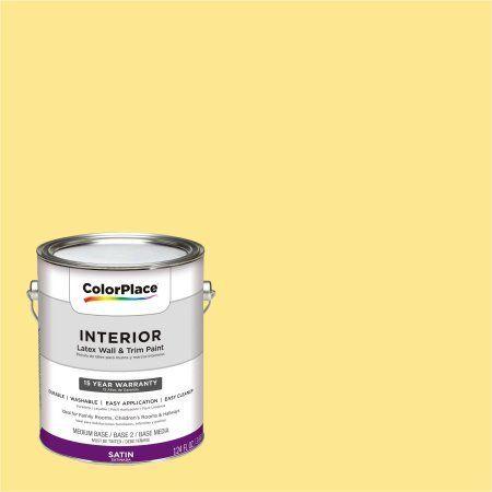 Colorplace Interior, 1 Gallon, Yellow