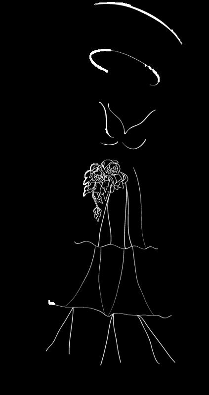 Resultado de imagem para silhueta feminina steampunk
