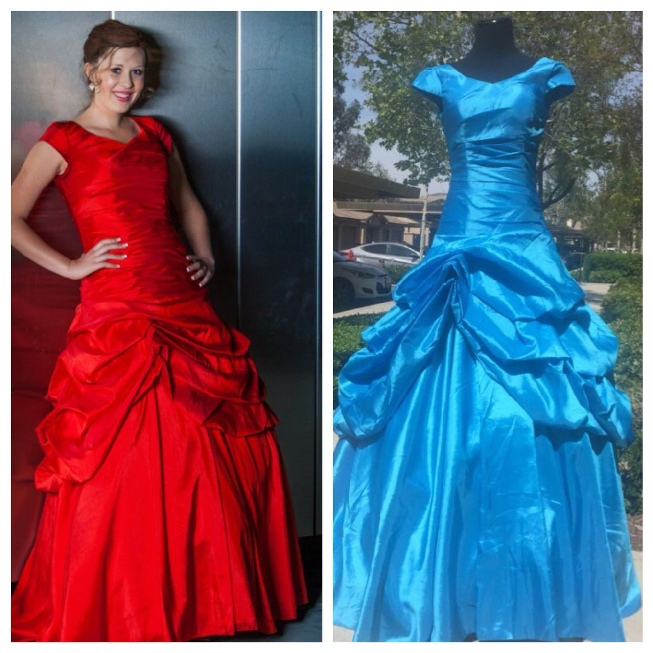 Our Modest Prom Dress Katniss In Caribbean Blue This Dress Is One