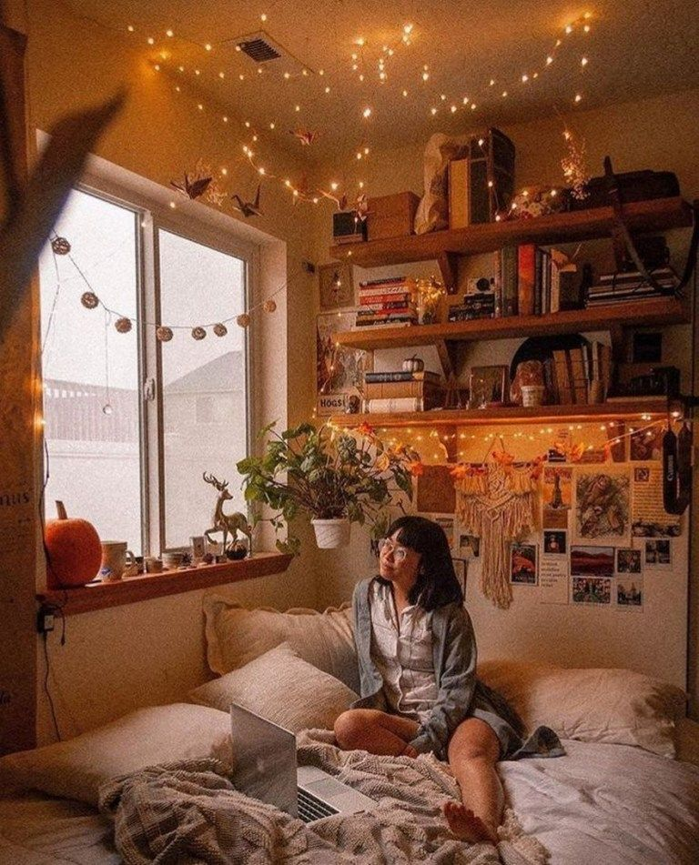 ✔60 inspiring decoration ideas for your dorm room 53 #cutedormrooms