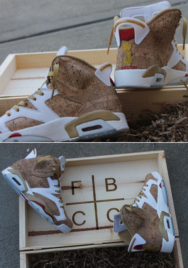 "quality design 2a99a 0a802 »AIR JORDAN VI ""1ST RING"" CUSTOMS BY FBCC«  shoes  sneakers  nike  airjordan.  »"