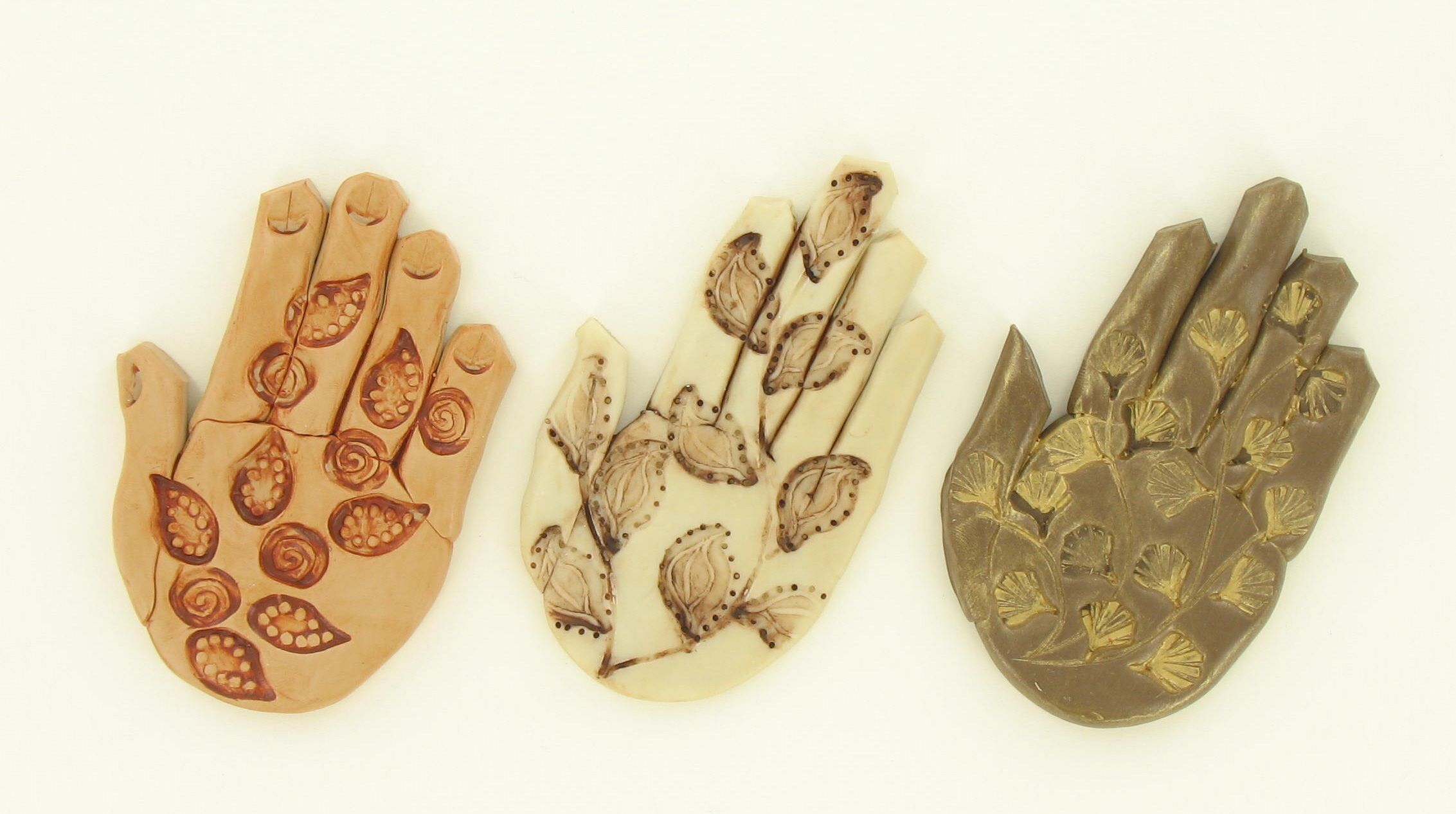 "Sculpey III ""Mendhi"" Hand Medallions – Sculpey"