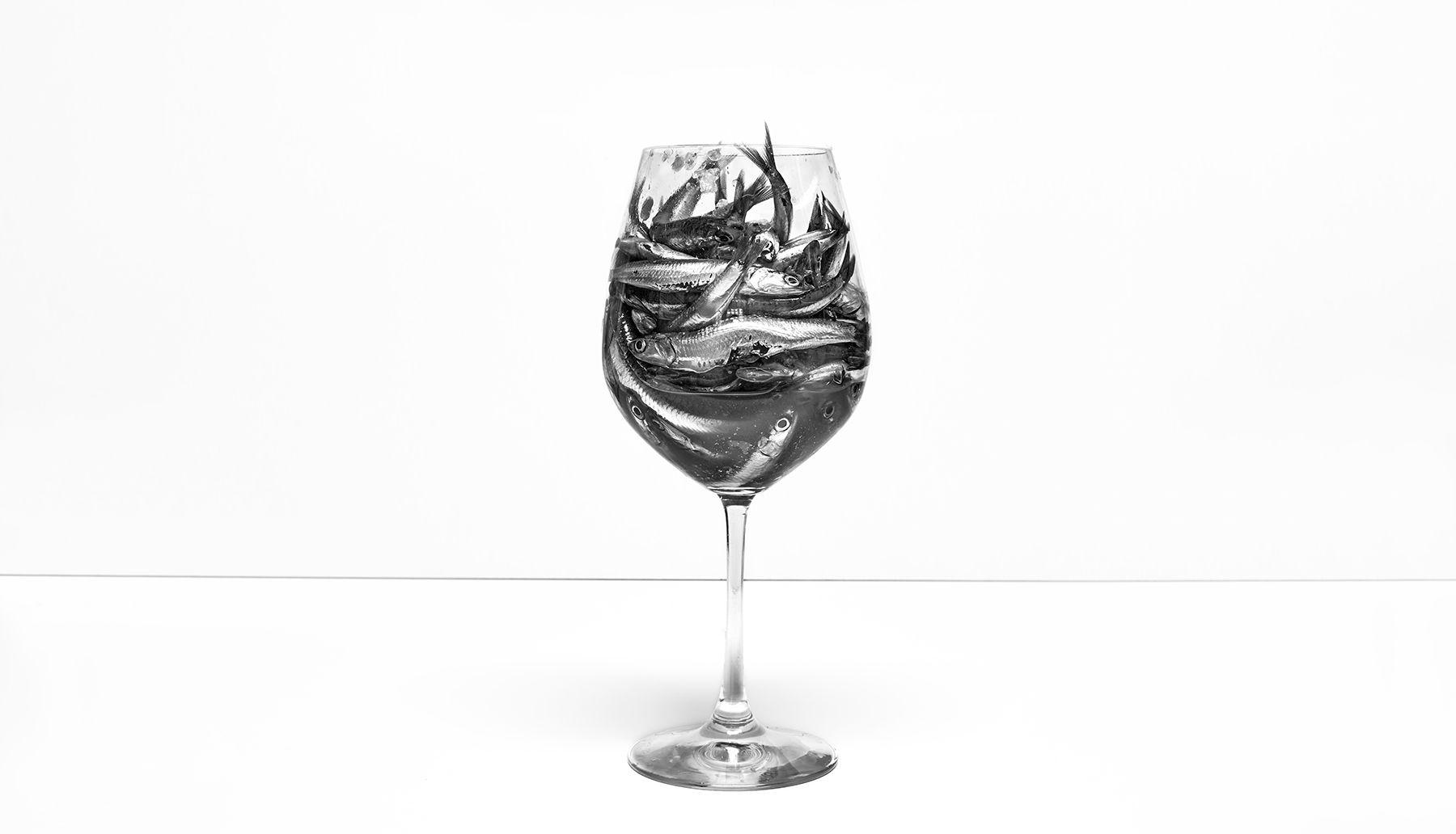 Boquerones en copa: