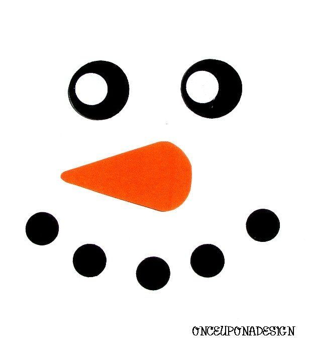 Image result for Free Printable Snowman Face Template Senior