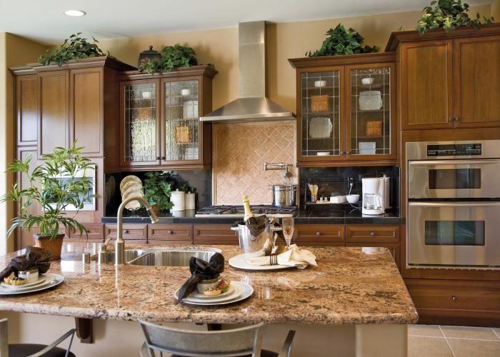 Madison plat rustique armoires de cuisines ebsu - Armoire de cuisine rustique ...