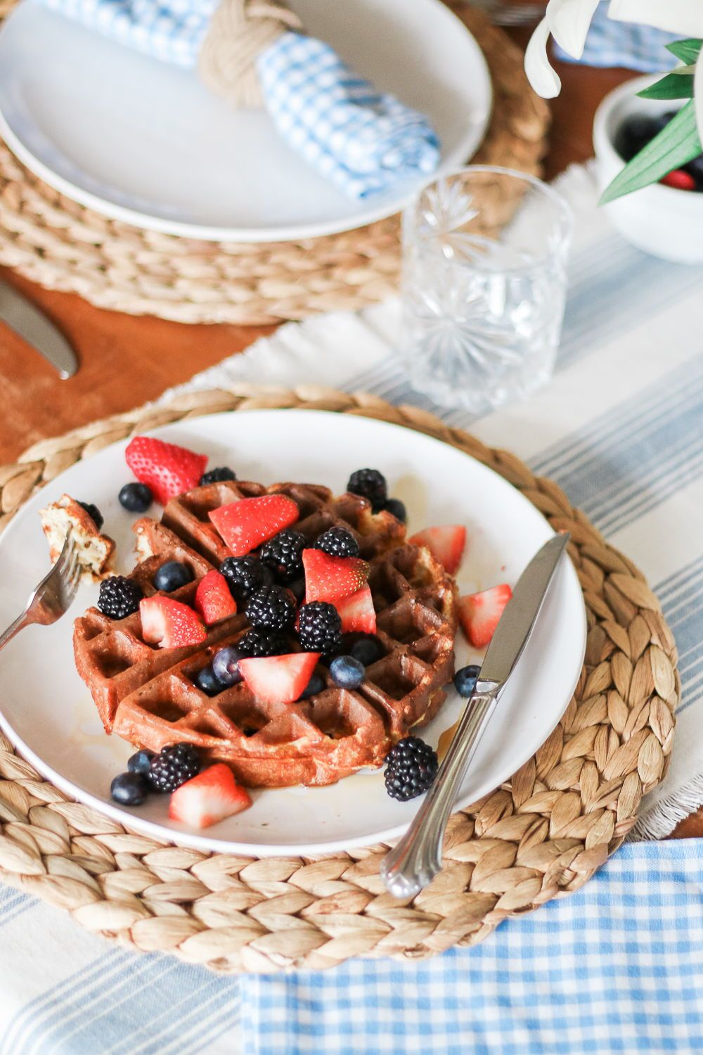 fluffy protein waffles recipe diary of a debutante protein rh pinterest com