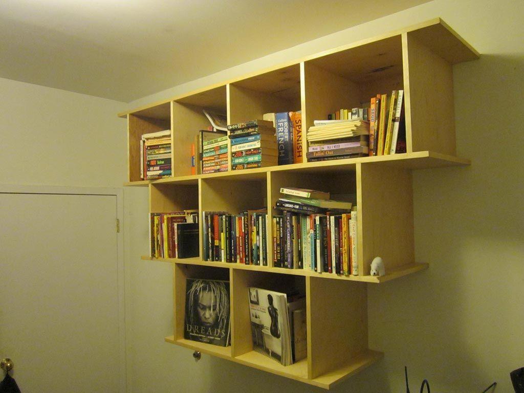 Wall Hanging Shelves Design Hanging Bookshelves Wall Hanging