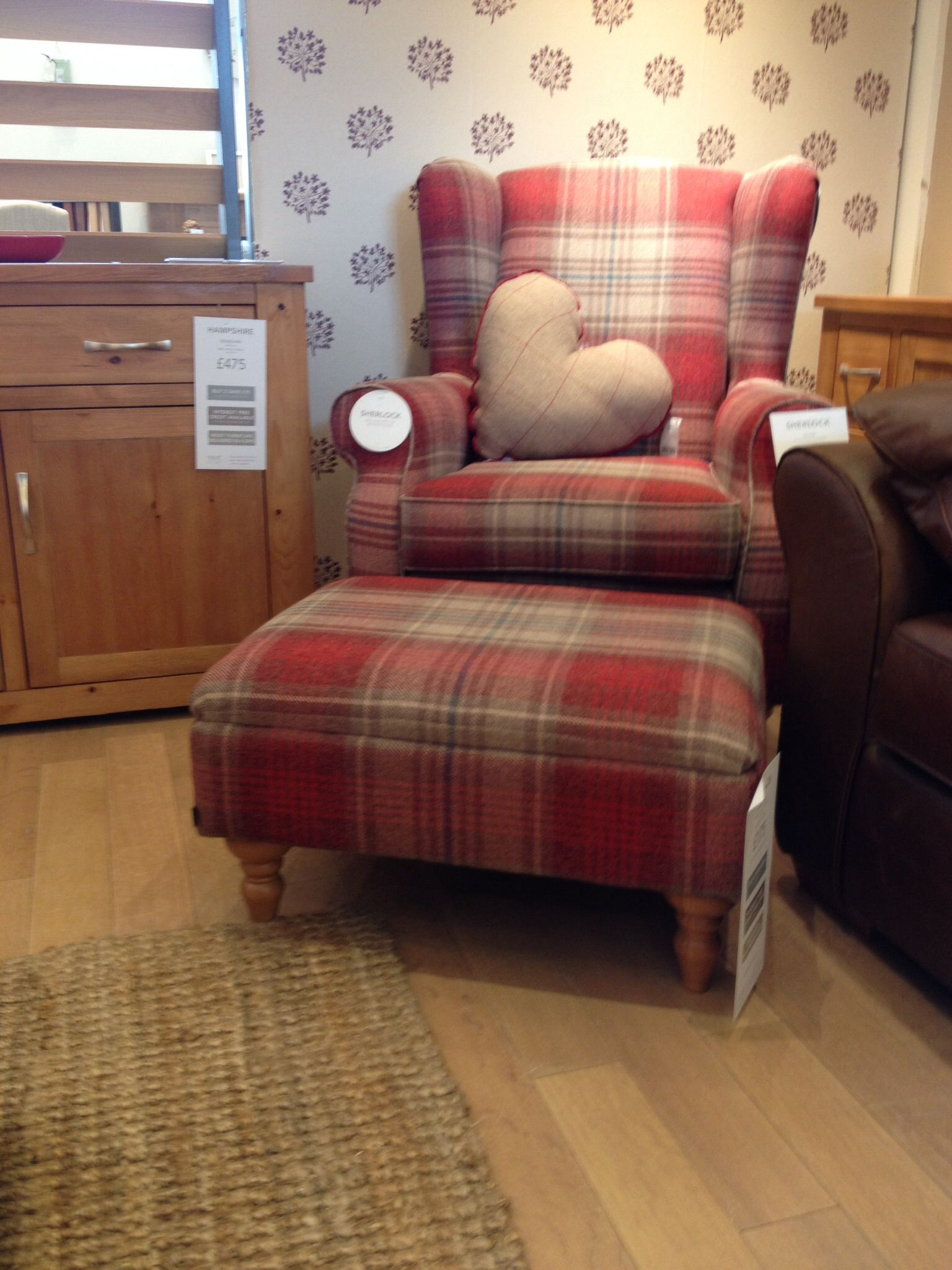 my new chair and footstool next creating an old study room rh pinterest com