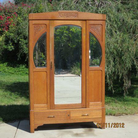 beautiful antique german breakdown wardrobe 300 fallbrook rh pinterest com