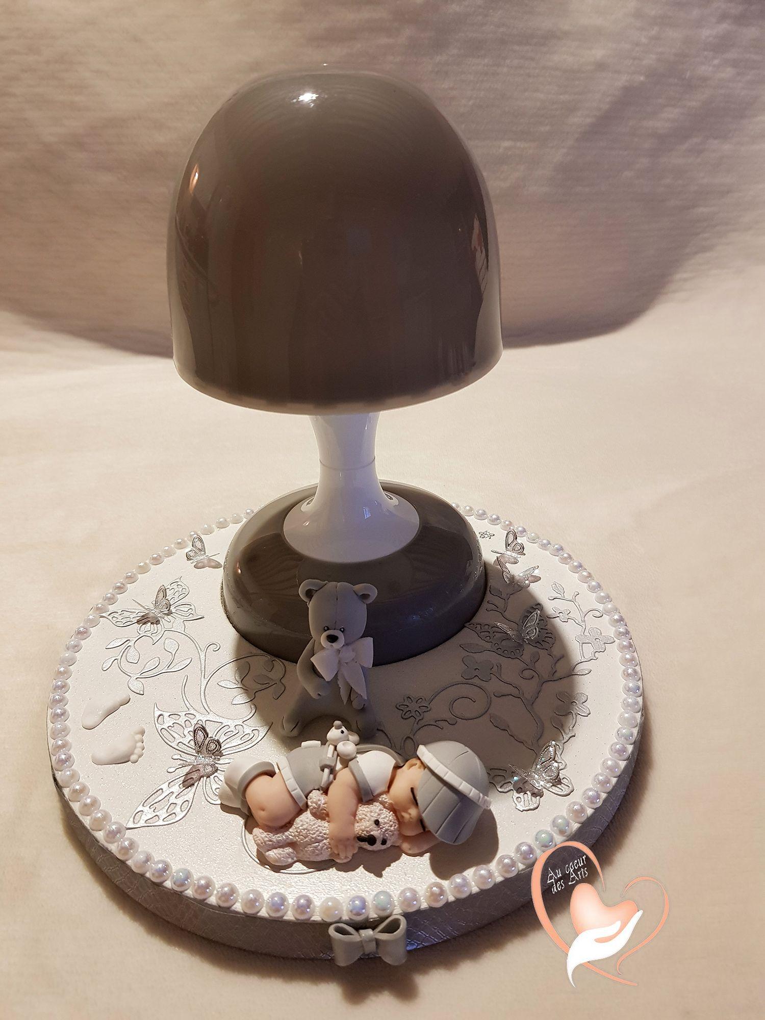 Veilleuse Lampe Lumineuse Sur Socle En Bois Bebe Garcon Au Coeur Des Arts Enfants Veilleuse Bebe Garcon Lumineux