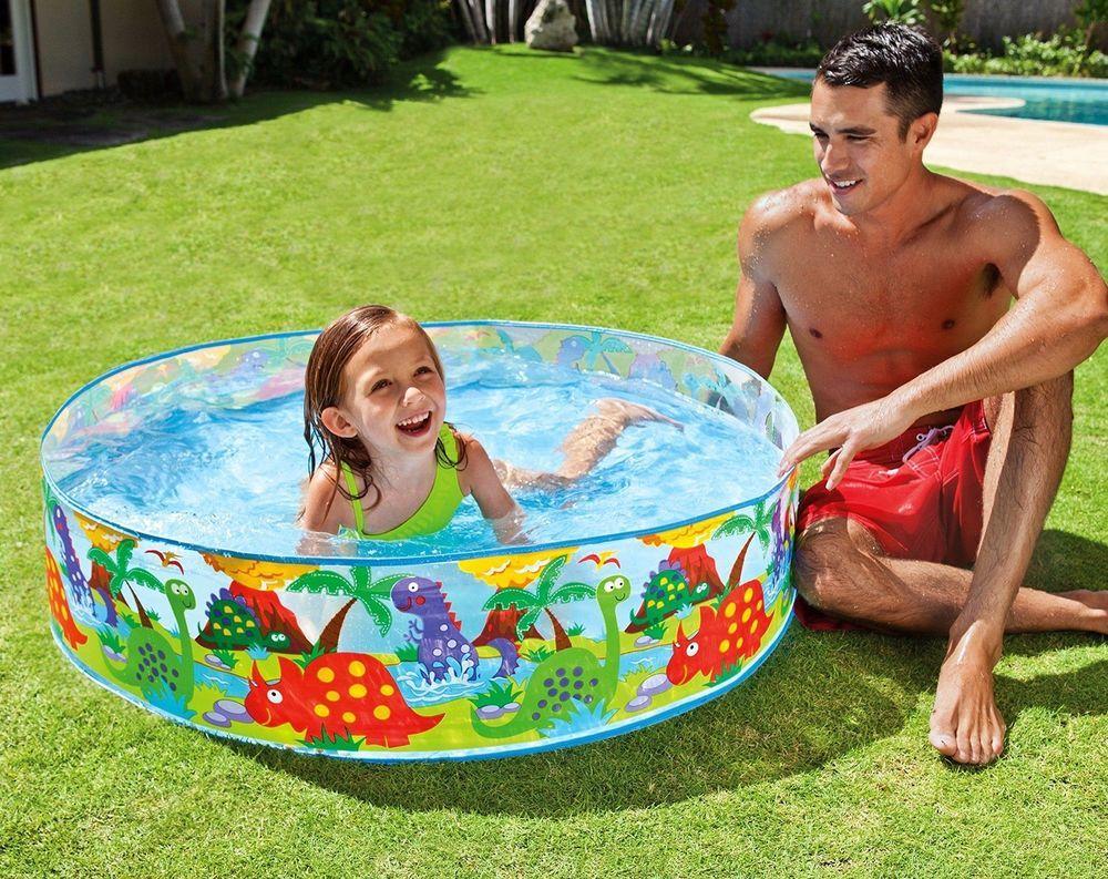 Kids Small Pool Garden Swim Centre Outdoor Summer Child Water Play Fun Splash Pool Summer Outdoor Kid Pool