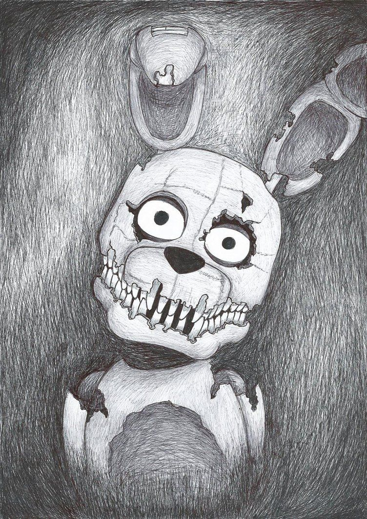 Plushtrap By Szpnia On Deviantartcom Guys Check Her Out Shes