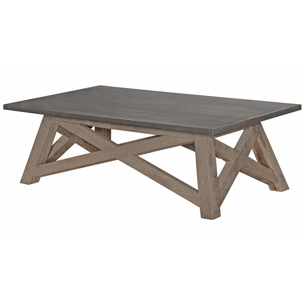 marx industrial loft elm wood zinc metal coffee table laurel rh pinterest com