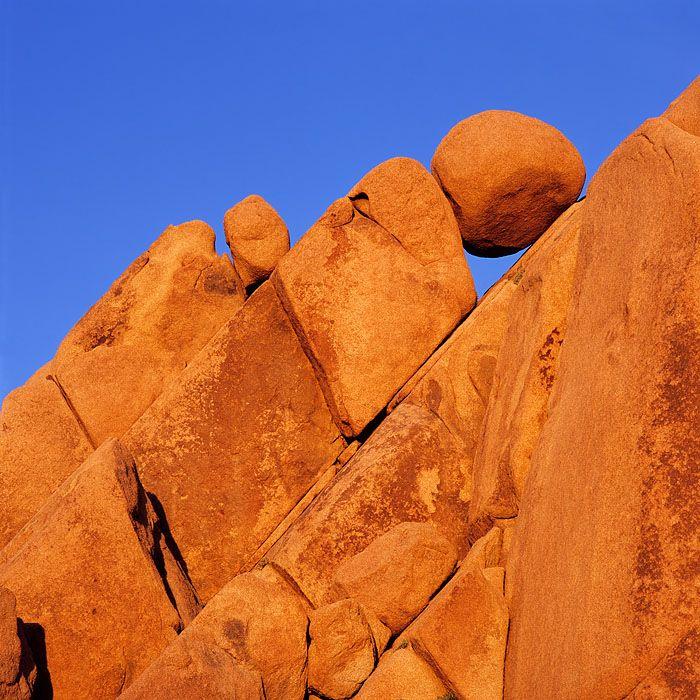 Joshua Tree Granite Boulders. Joshua Tree National Park, California.