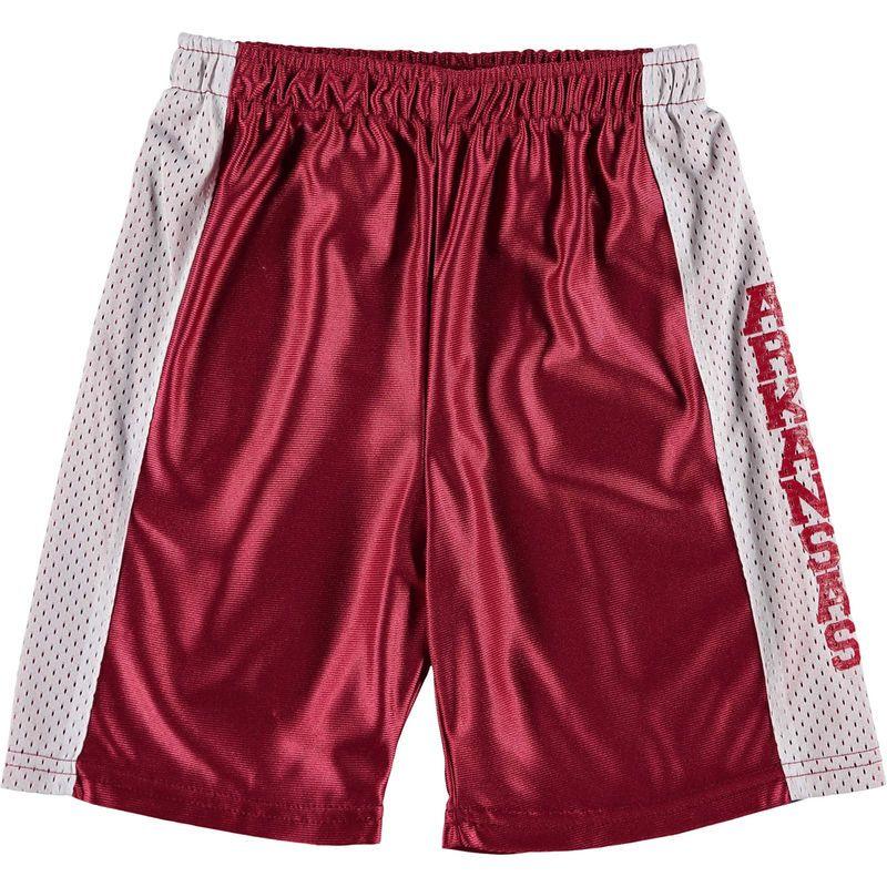 Arkansas Razorbacks Youth Mesh Basketball Shorts - Cardinal ... def202e04