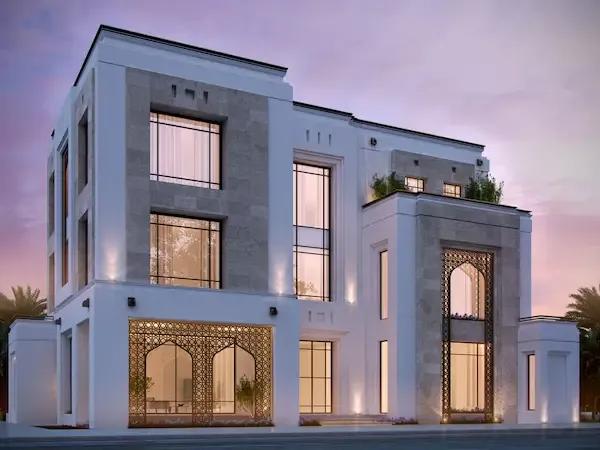 افخم تصاميم واجهات منازل حديثة 2020 افضل 40 واجهة ملكية ستسحرك Architect House Architect Logo Architect
