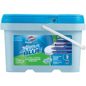 clorox pool spa xtrablue 5 lb bucket 3 in pool chlorine tabs rh pinterest com