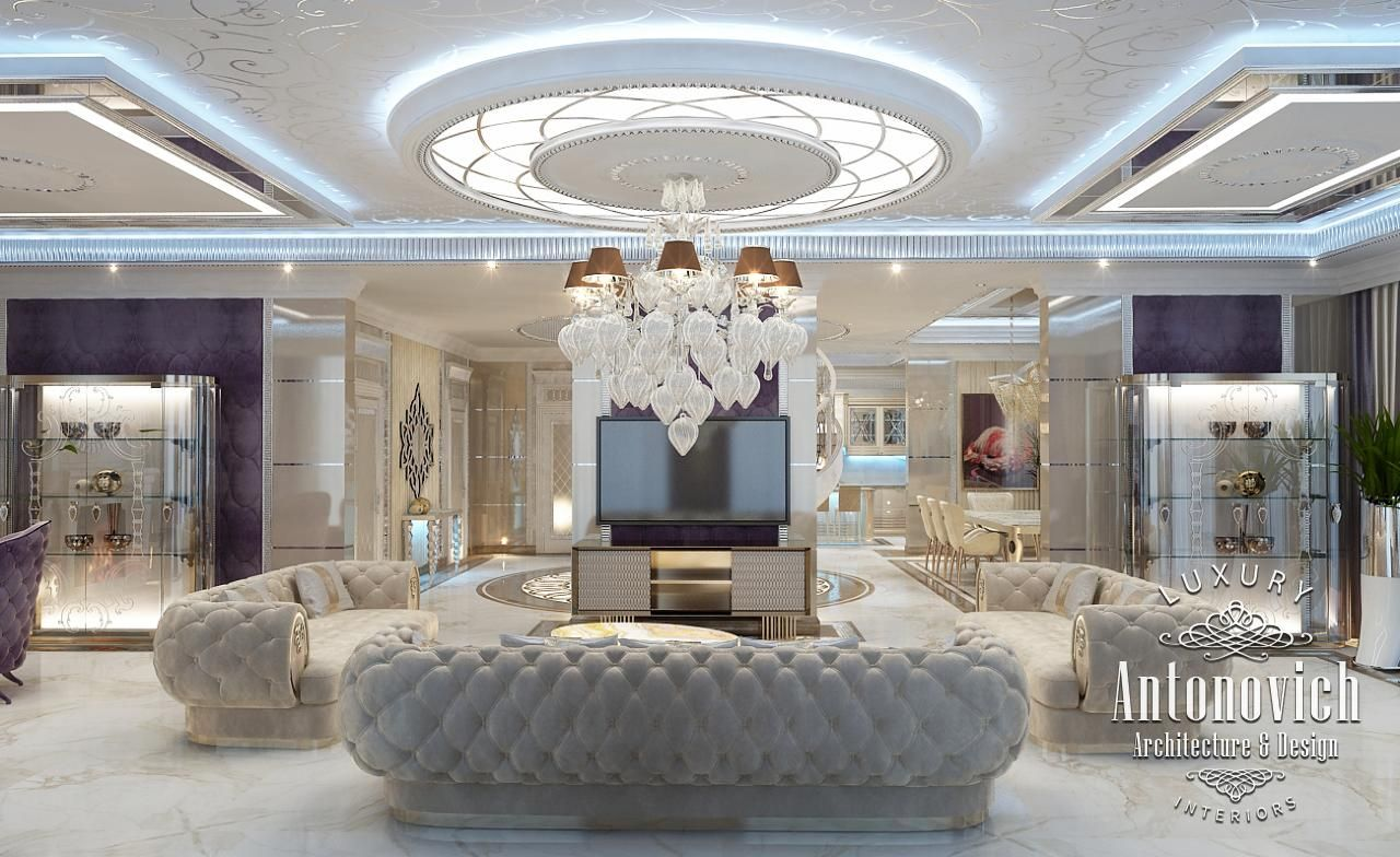 Luxury interior design dubai from katrina antonovich for Luxury house plans with photos of interior