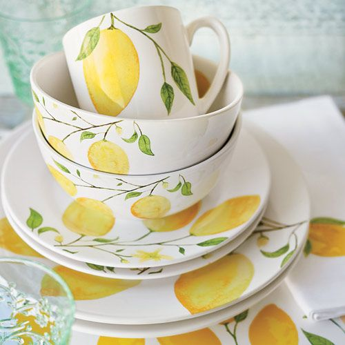 Awesome Apartment Projects · Lemon Dinnerware Collection | Sur La Table Good Looking