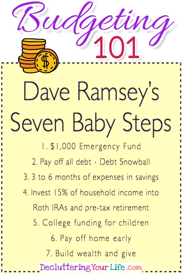 Budgeting 101 - Dave Ramsey\u0027s Debt Snowball to be Debt Free in 2018