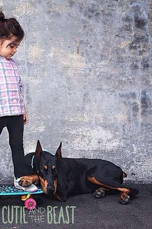 cutie and the beast instagram | La cuenta Cutie and The Beast recopila las imágenes de esta niña y ...