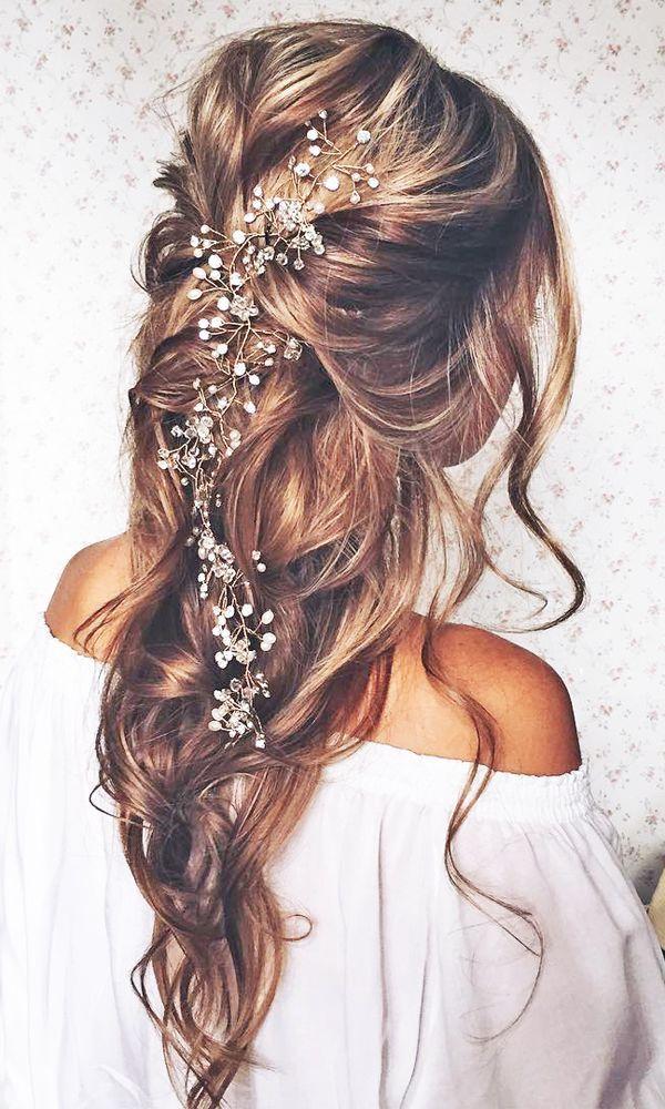 [FR] Idée Coiffure de Mariage Cheveux Longs / [EN] Long Hairstyle\u0027s Ideas  for Wedding