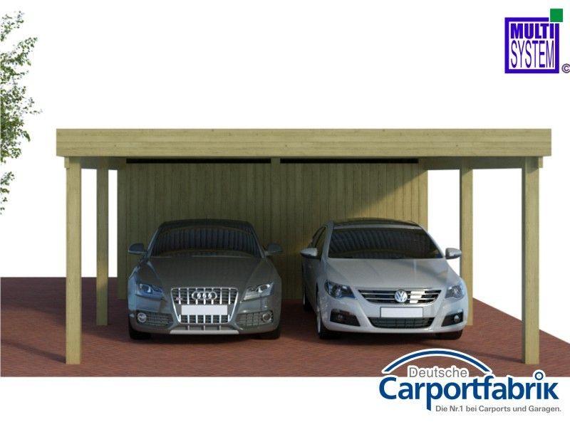 multi doppelcarport mit abstellraum und starken 125kg m. Black Bedroom Furniture Sets. Home Design Ideas