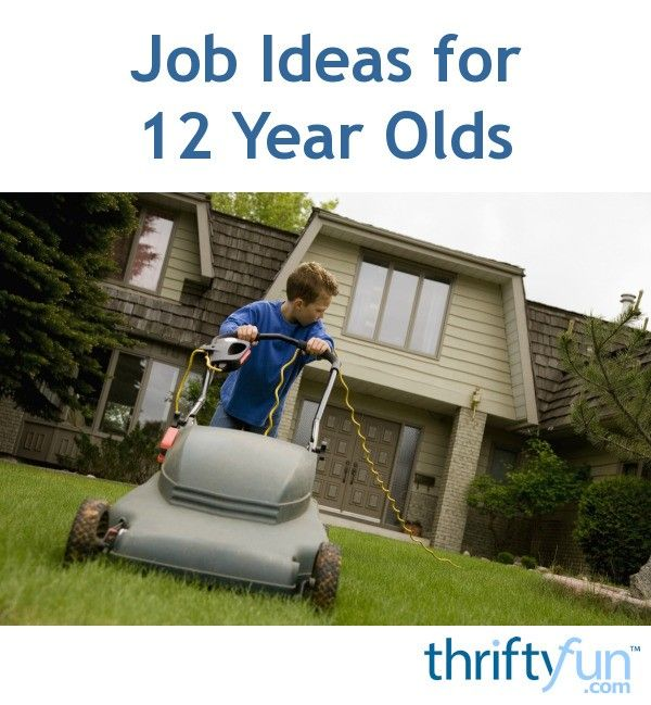 Job Ideas For 12 Year Olds 12 Year Old Jobs For Teens Summer Jobs