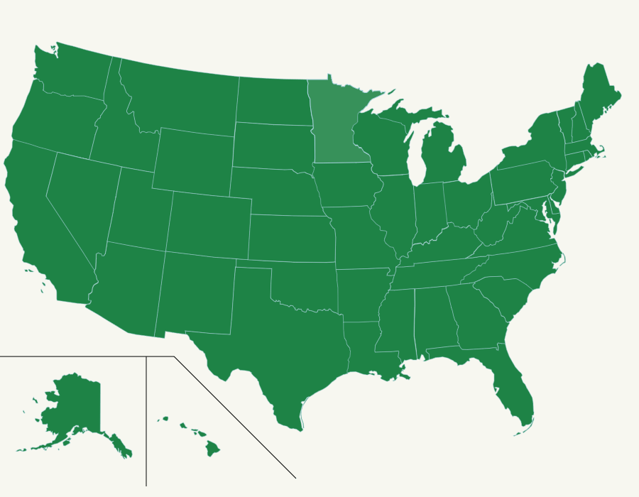 The US State Abbreviations Map Quiz