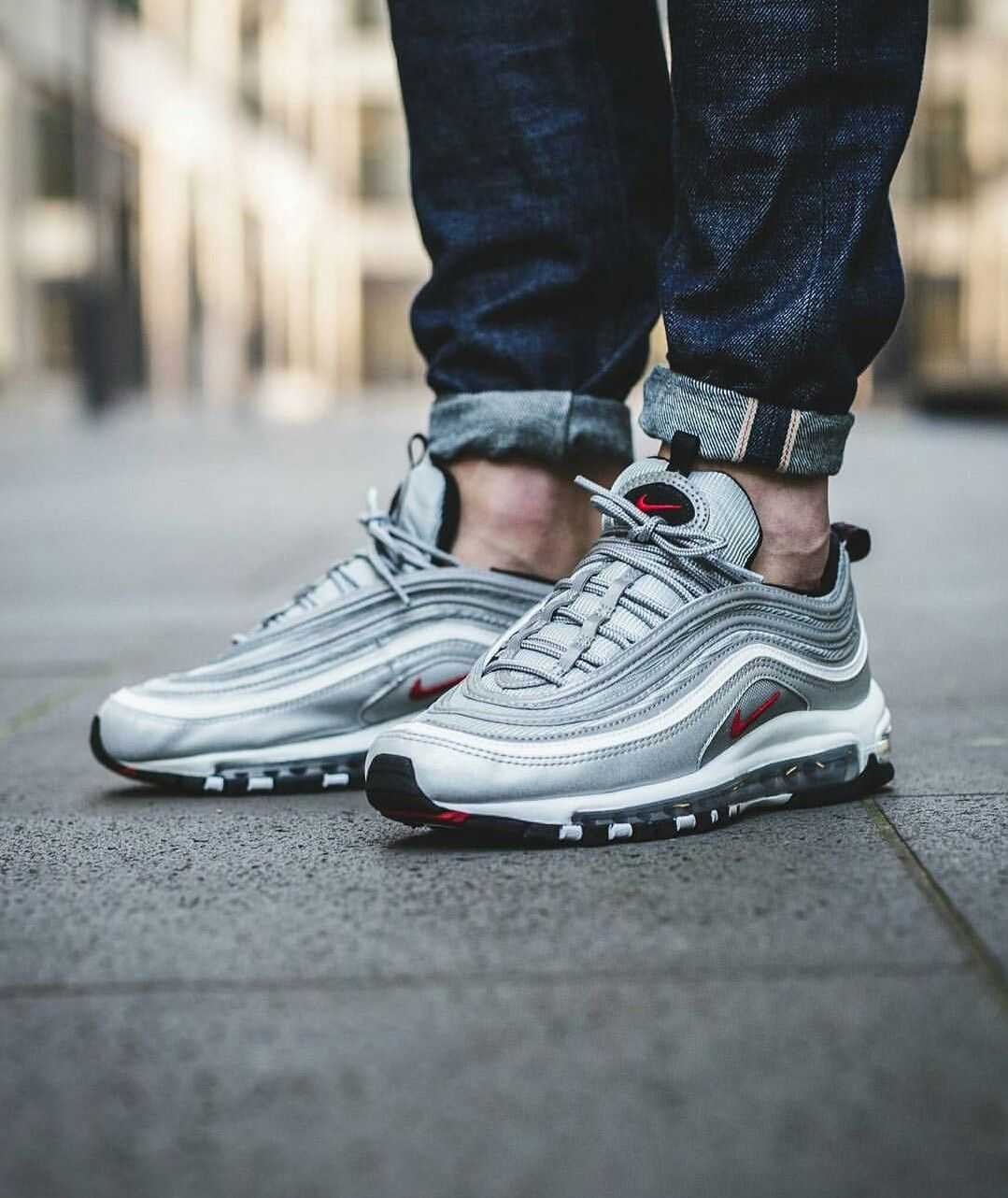 newest 0cd7c ba5eb Nike air max 97 La Silver