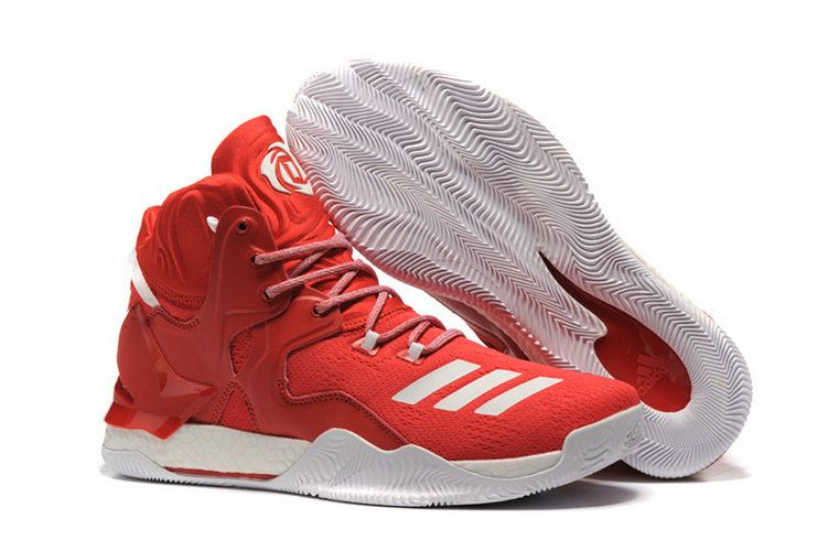 421cab85ff03 Adidas Derrick Rose 7 Vii China Red White Newest Sneaker