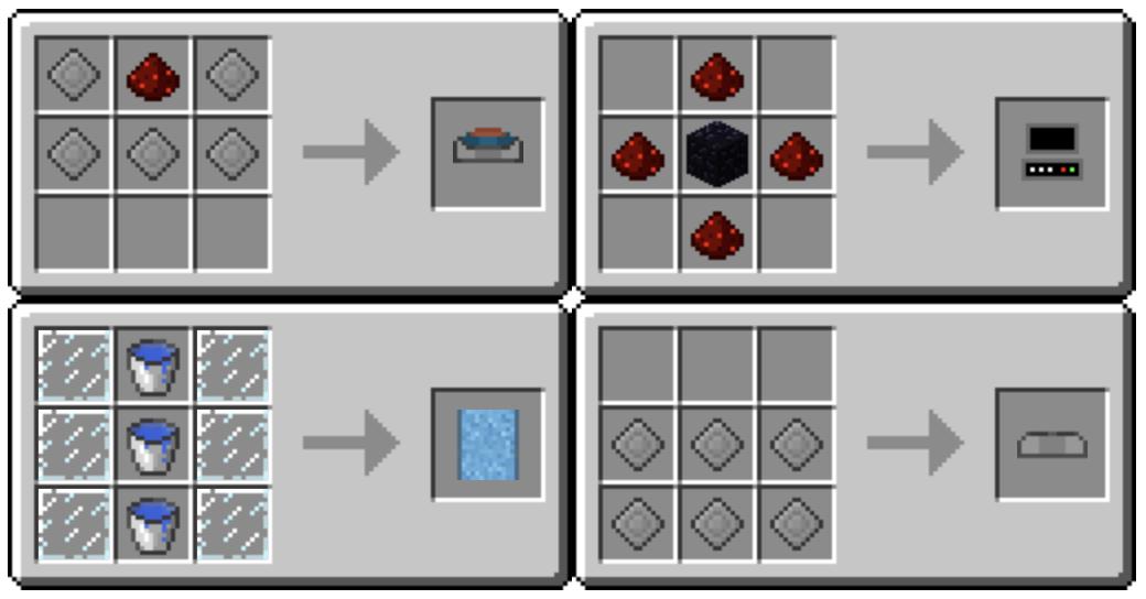 Minecraft Pixelmon Crafting Recipes Fossil Machine Crafting Recipes Crafts Fossil
