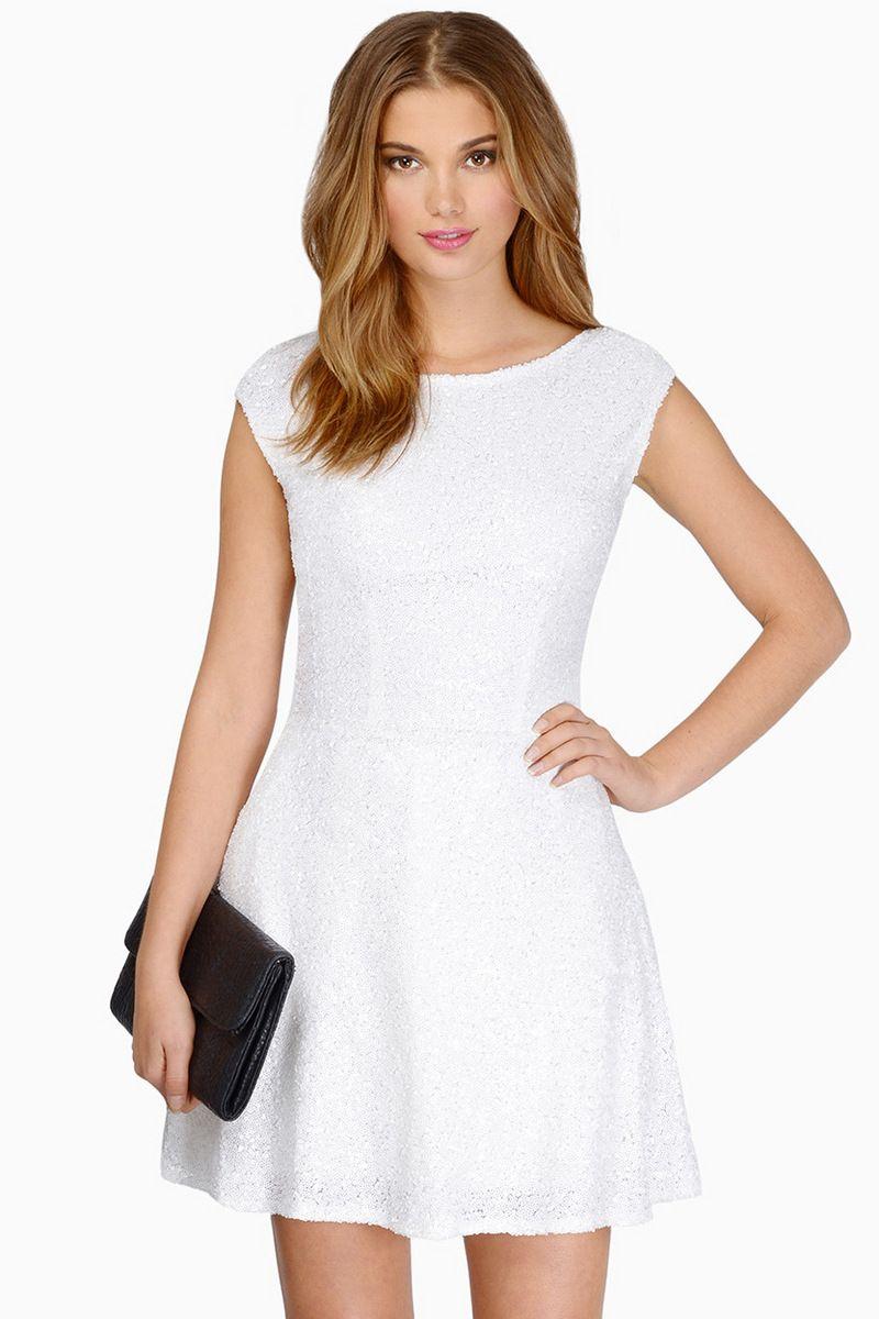 Vina Dress In Mint Green Sequin Dress White Lace Skater Dress Womens Trendy Dresses [ 1200 x 800 Pixel ]