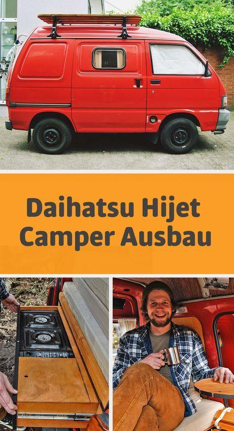 daihatsu hijet s85 der kleinste camper ausbau campen. Black Bedroom Furniture Sets. Home Design Ideas